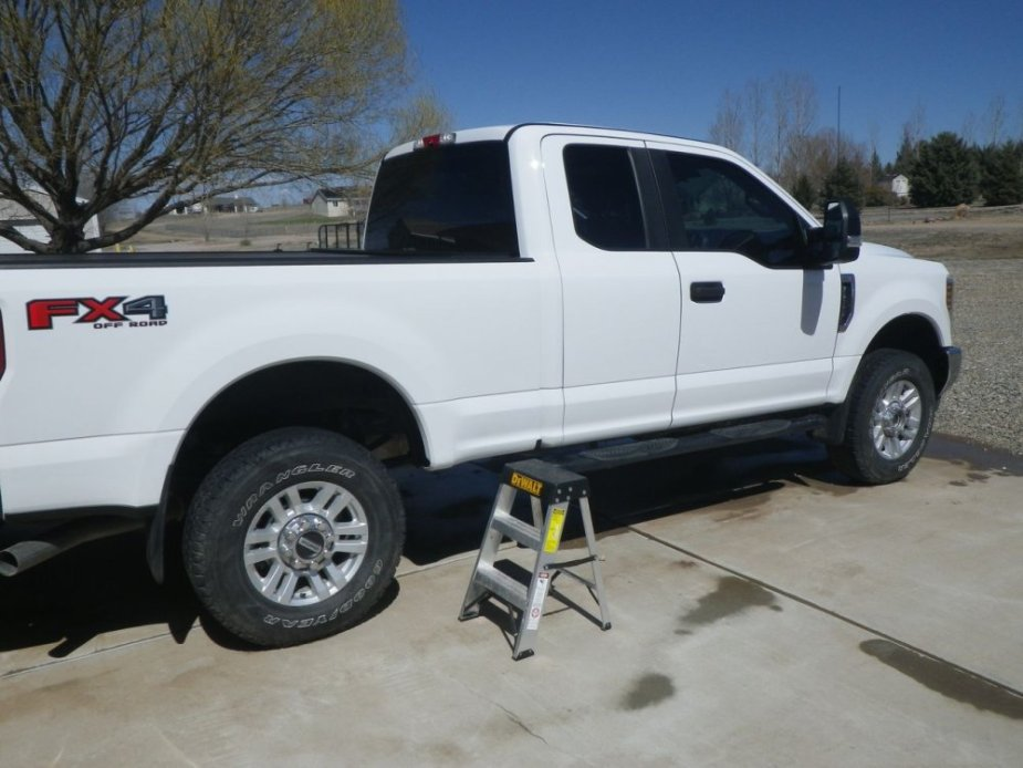 Ford Super Duty Cleaning Kit