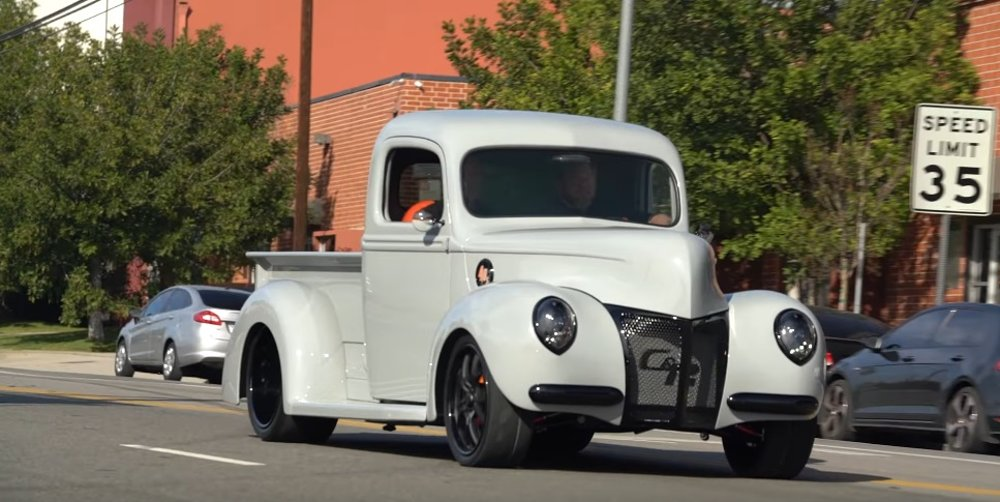 Wicked 1940 Ford Pickup is Flawlessly Modified from Top to Bottom