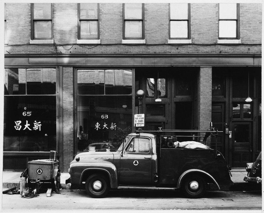 1955 Bell Telephone Truck