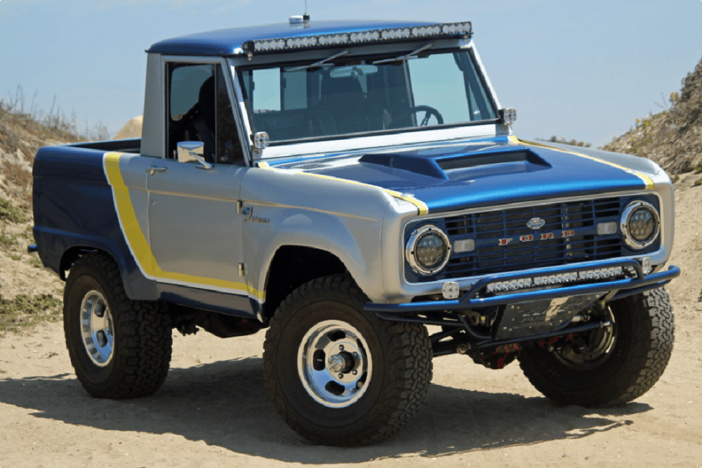 Wouldn't It Be Nice to Own This Beachy 1966 Custom Ford ...