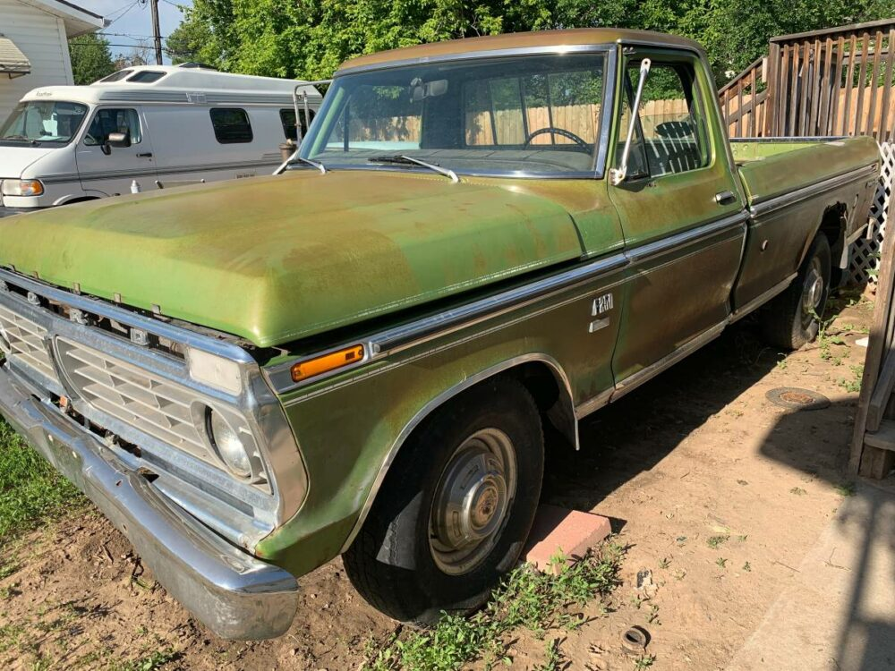 Would You Take on This 1973 Ford F-250 Project for a Mere $1K?