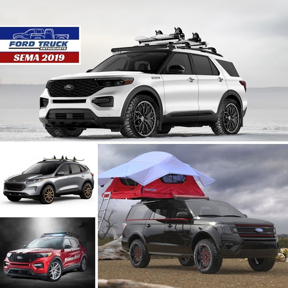 Ford Escape, Explorer & Expedition Get Tricked-out SEMA
