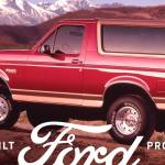 5th Generation Bronco 1992 1996 The Original Body Style Ford Bronco History