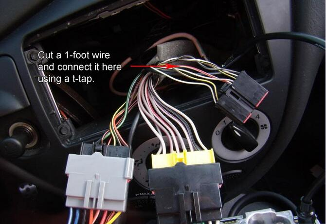 ford focus svt aftermarket radio wiring connection  diy you