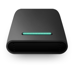 Black Round Feeling Of The Computer Disk Icon Png Download