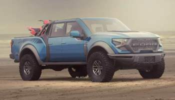 A next-gen 2022 Ford F150 Raptor has been spied emitting a rumbling V8 soundtrack, which is coming from the