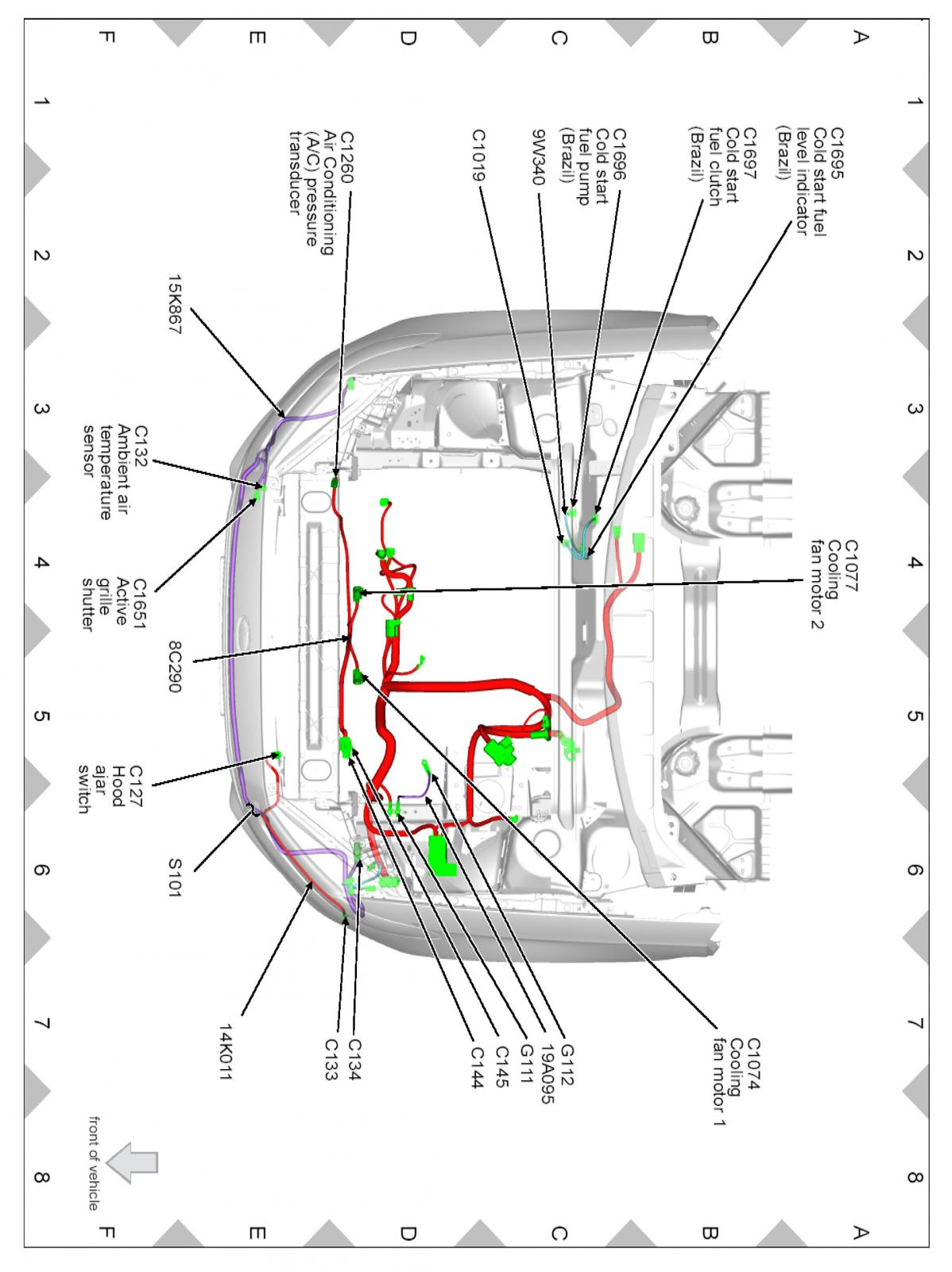 Headlight Relay Diagram
