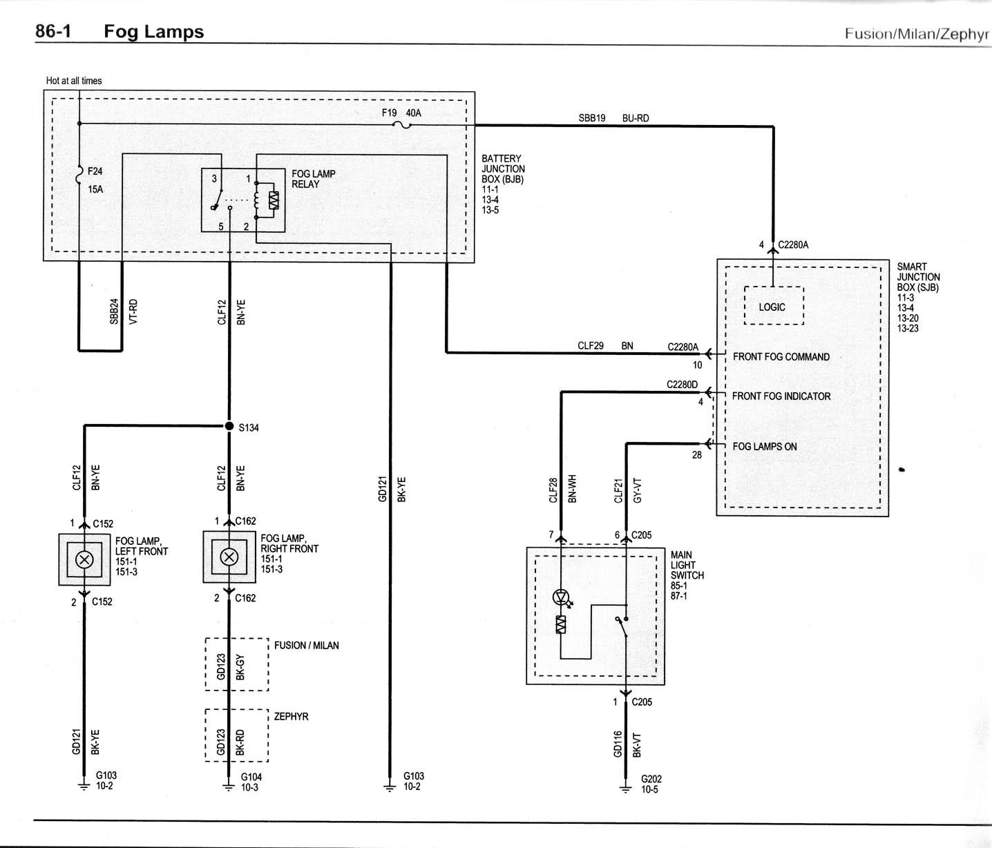 Adding Fogs Need Help Wiring Factory Fog Light Switch