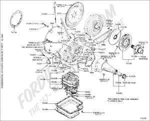 Ford Truck Technical Drawings and Schematics  Section G  Drivetrain (Transmission, Clutch