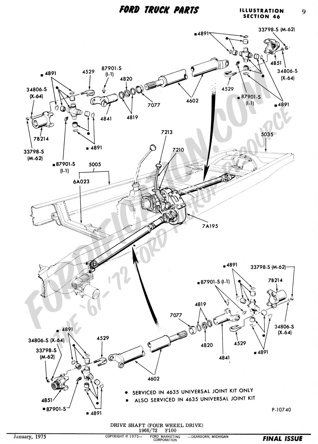 F150 4x4 Front Axle Diagram