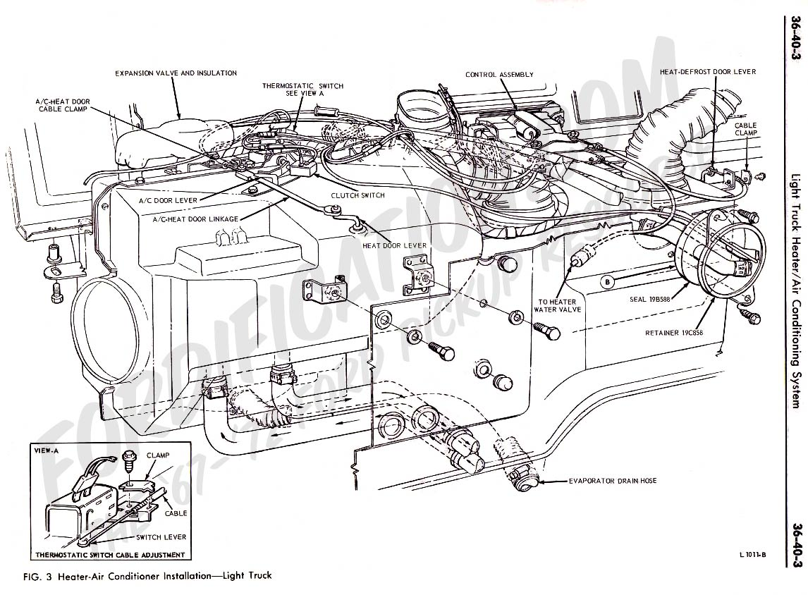 Ford Expedition Heater Hose Diagram