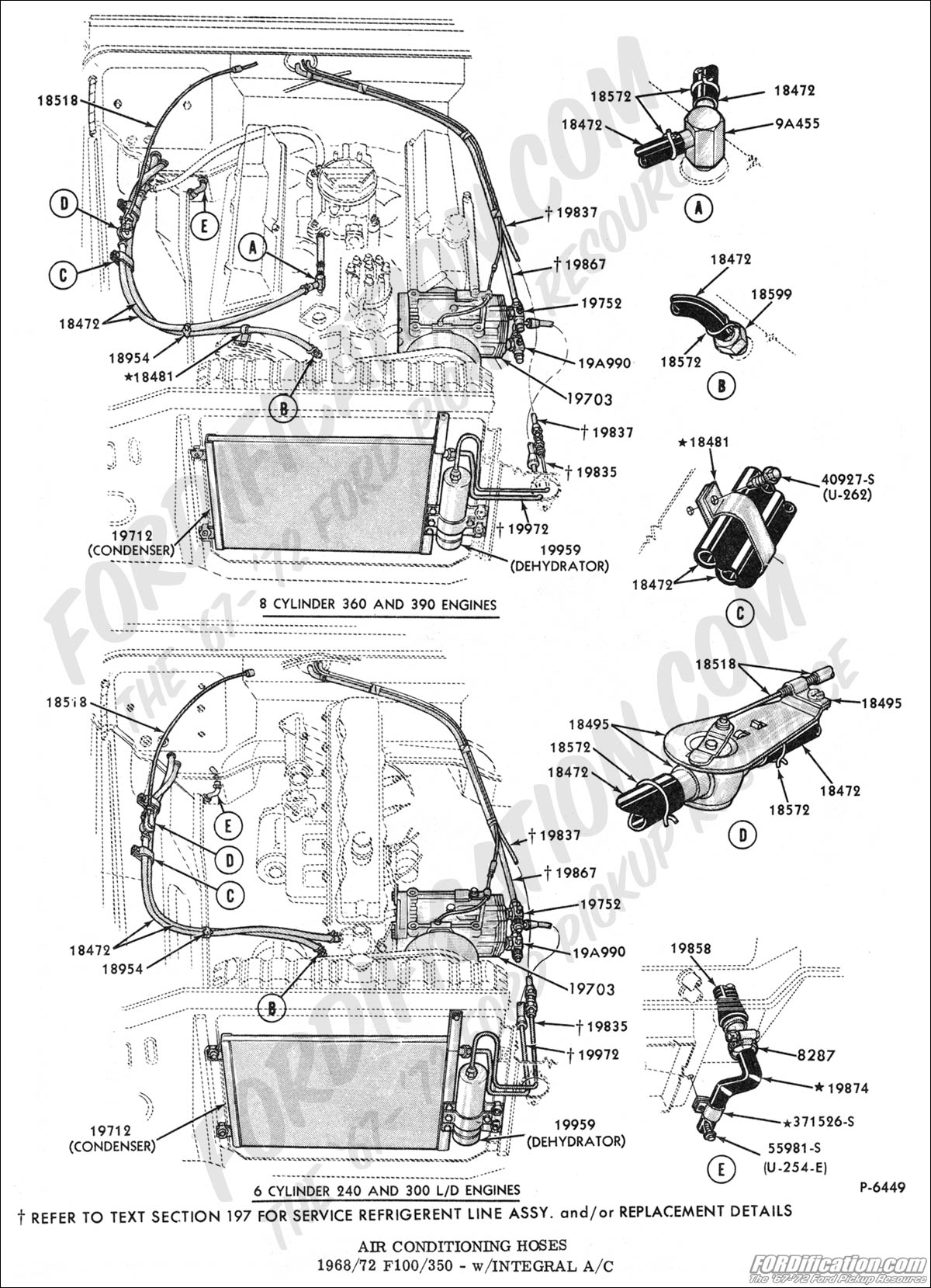 Dash Control And Heater Hose
