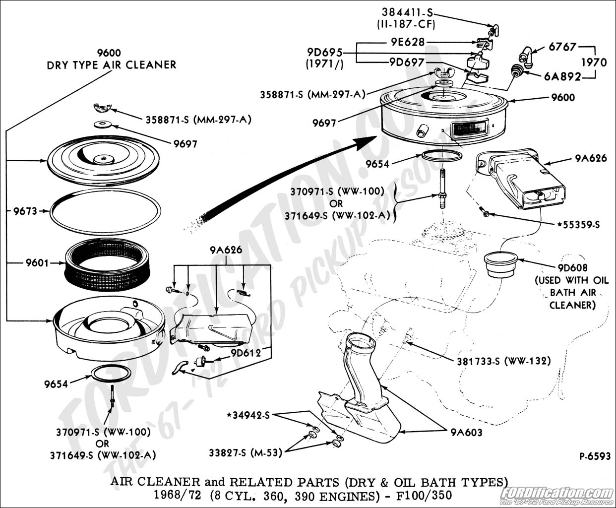 Ford F100 Brake Line Diagram