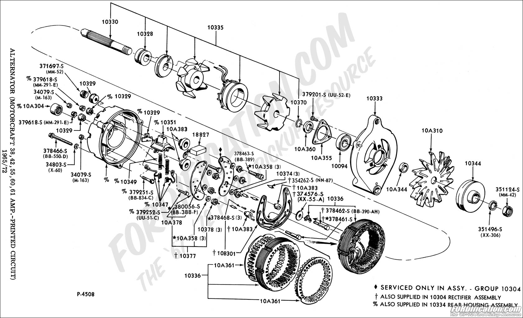 76 Ford Bronco Alternator Wiring Diagram