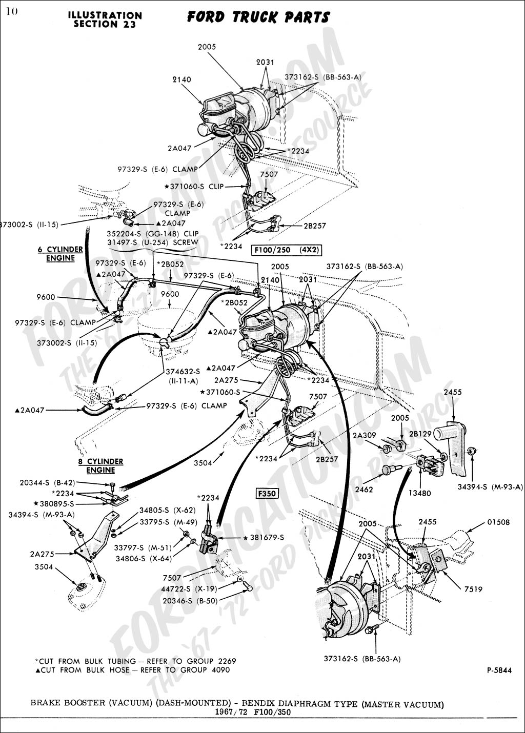 Corvette Vacuum Line Diagram