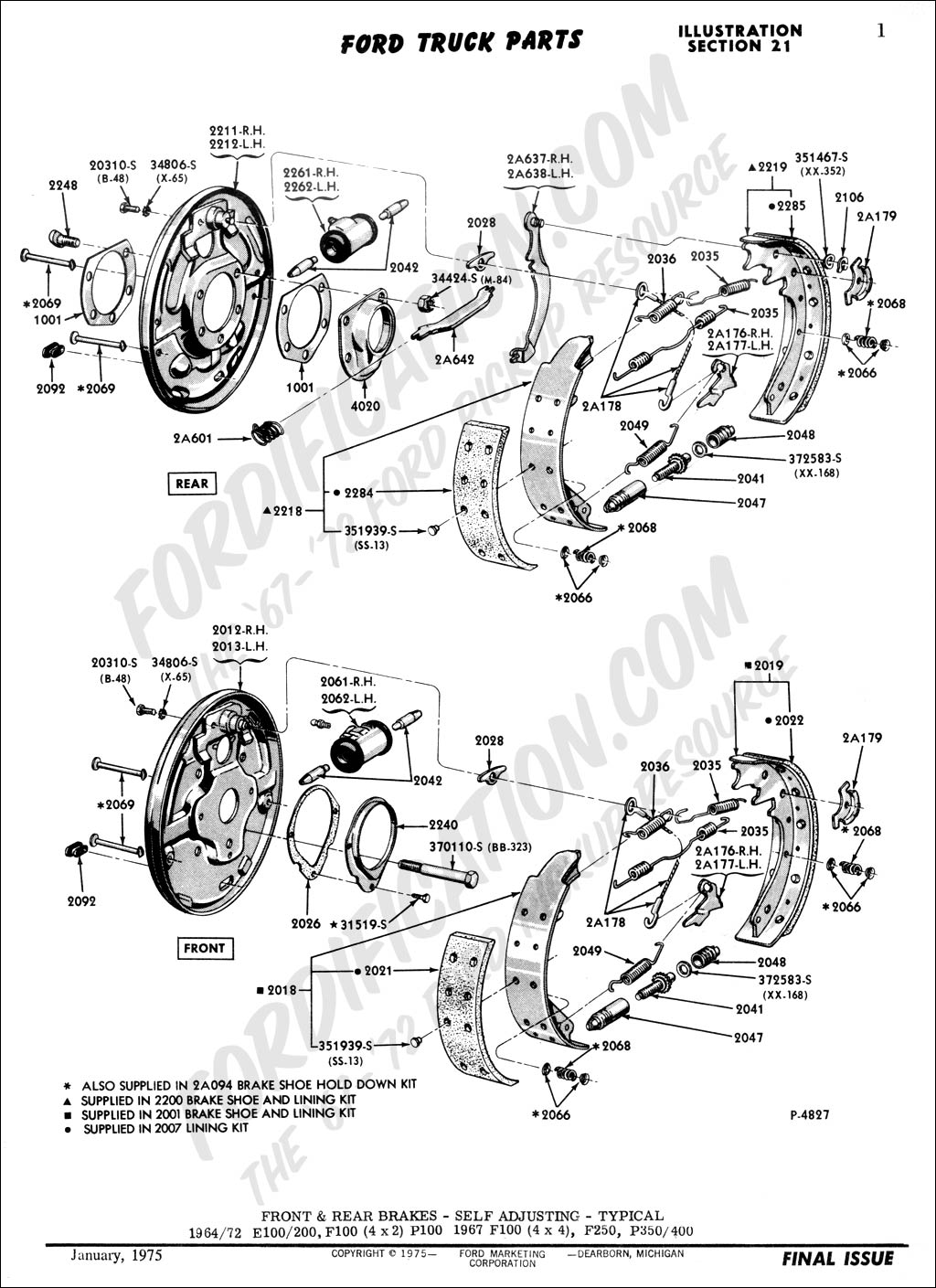 Anyone Have A Diagram For Back Drum Brakes On Cougar