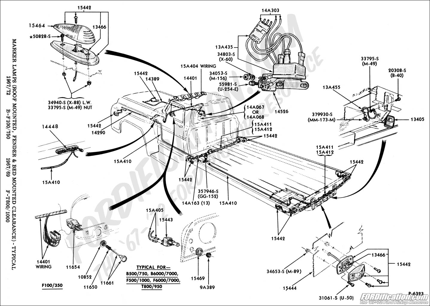 Ford F750 Schematic