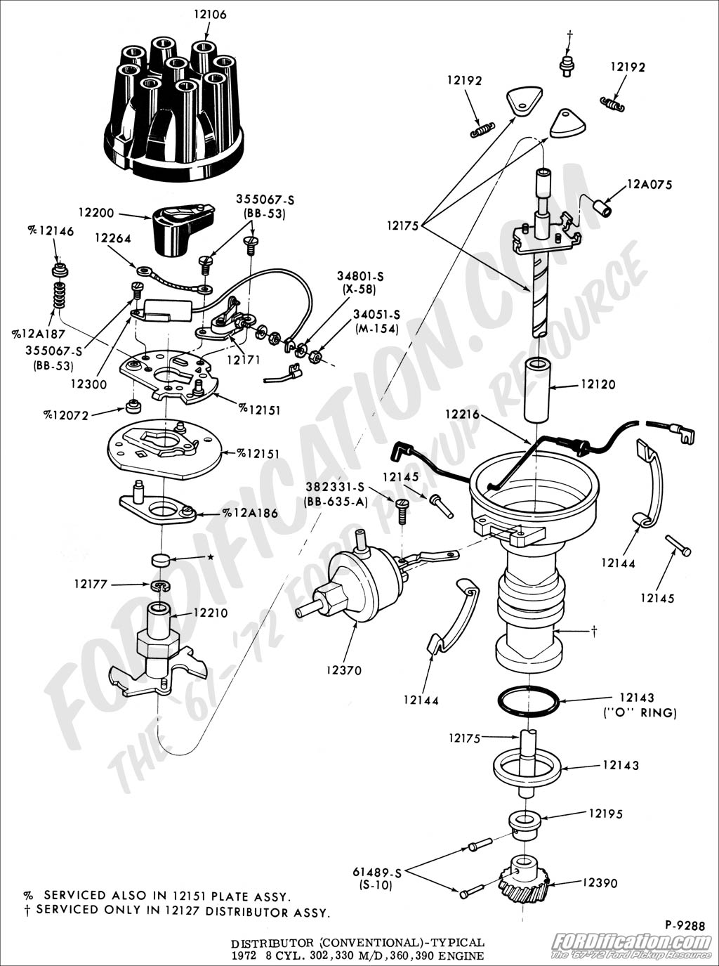 Diagram ford 360 distributors wiring diagram ford truck technical drawings and schematics section i ford 300 6 cylinder diagram ford 360 distributors 1969