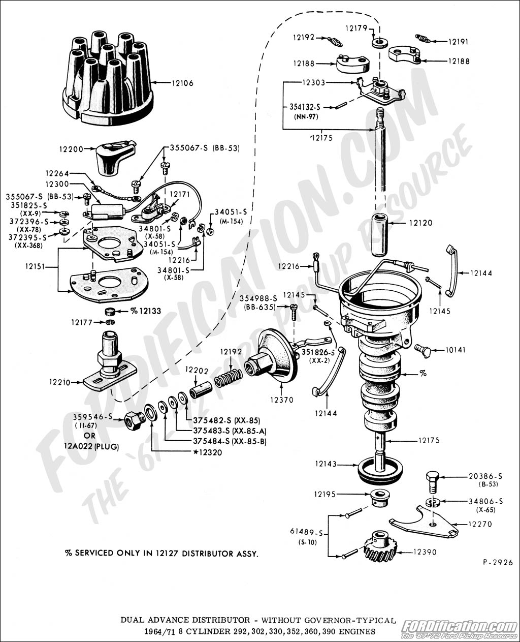 Ford Bronco Steering Diagram