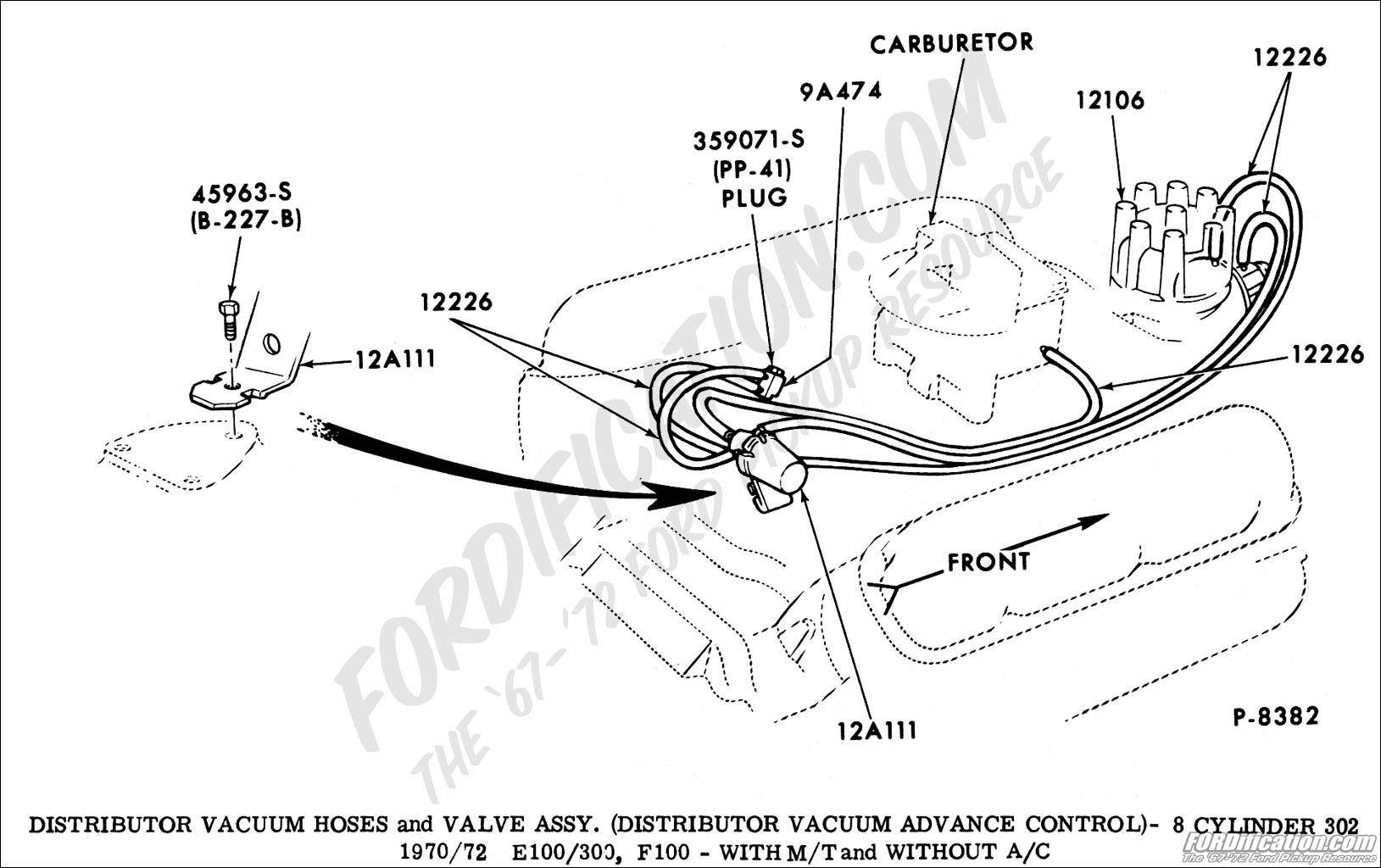 Ford F 150 302 Vacuum Diagram Wiring Diagram For Free