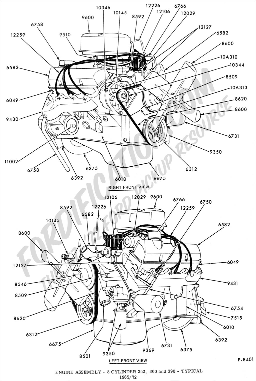 Free Download 390 Ford Engine Diagram