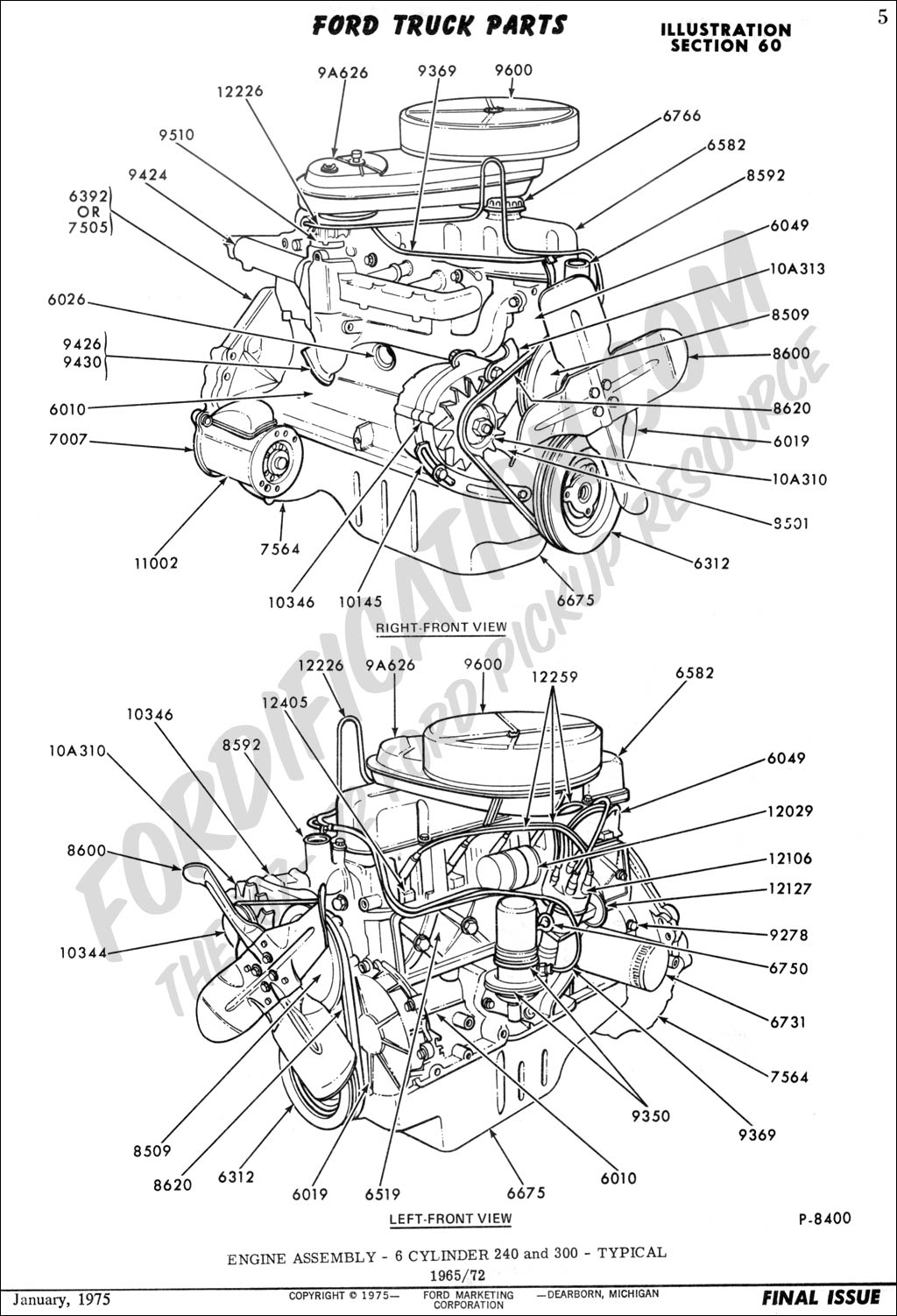 F 250 Engine Diagram