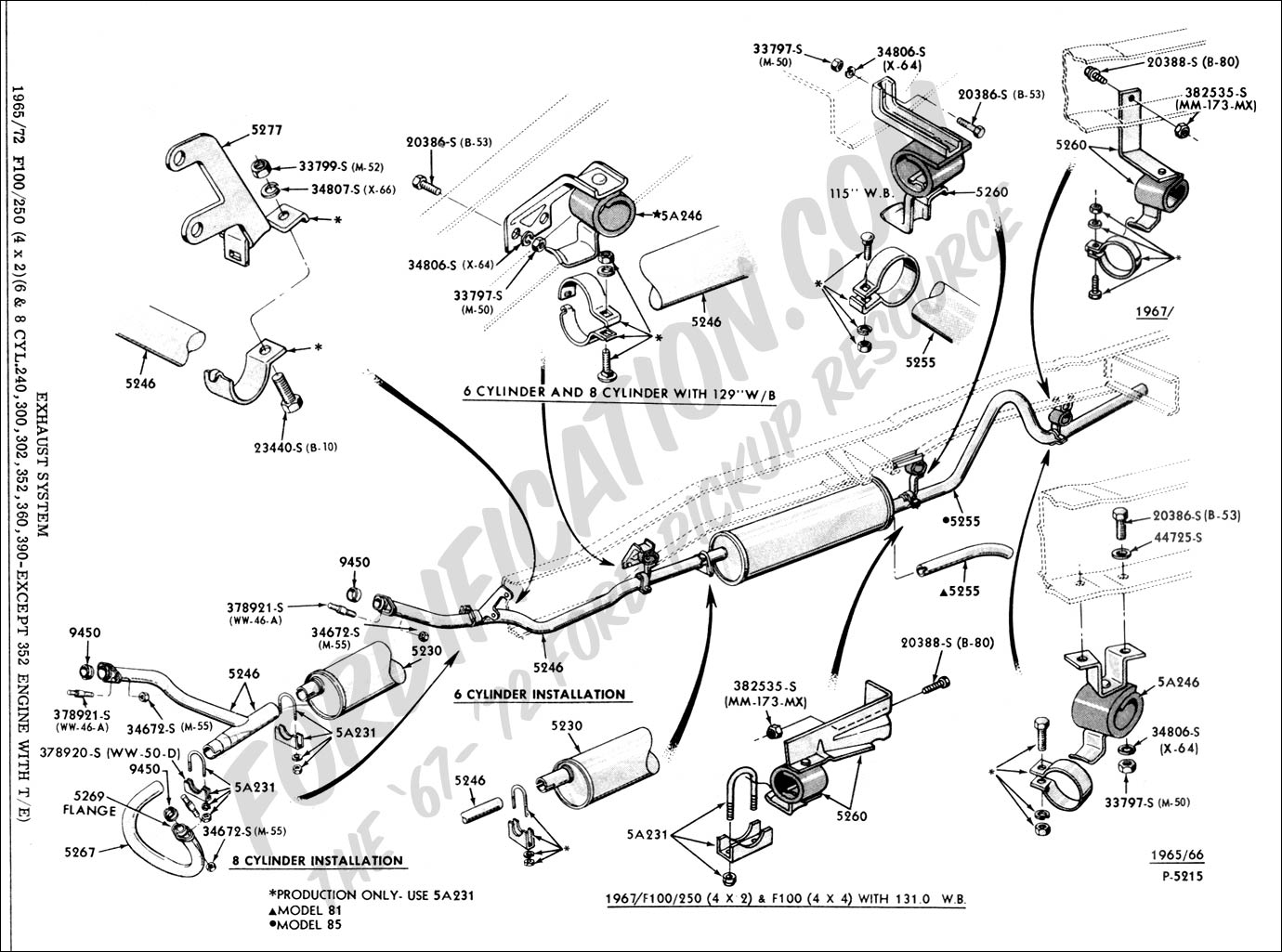 f150 engine diagram 1987
