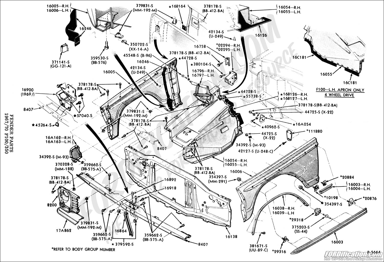 F350 Frame Diagram