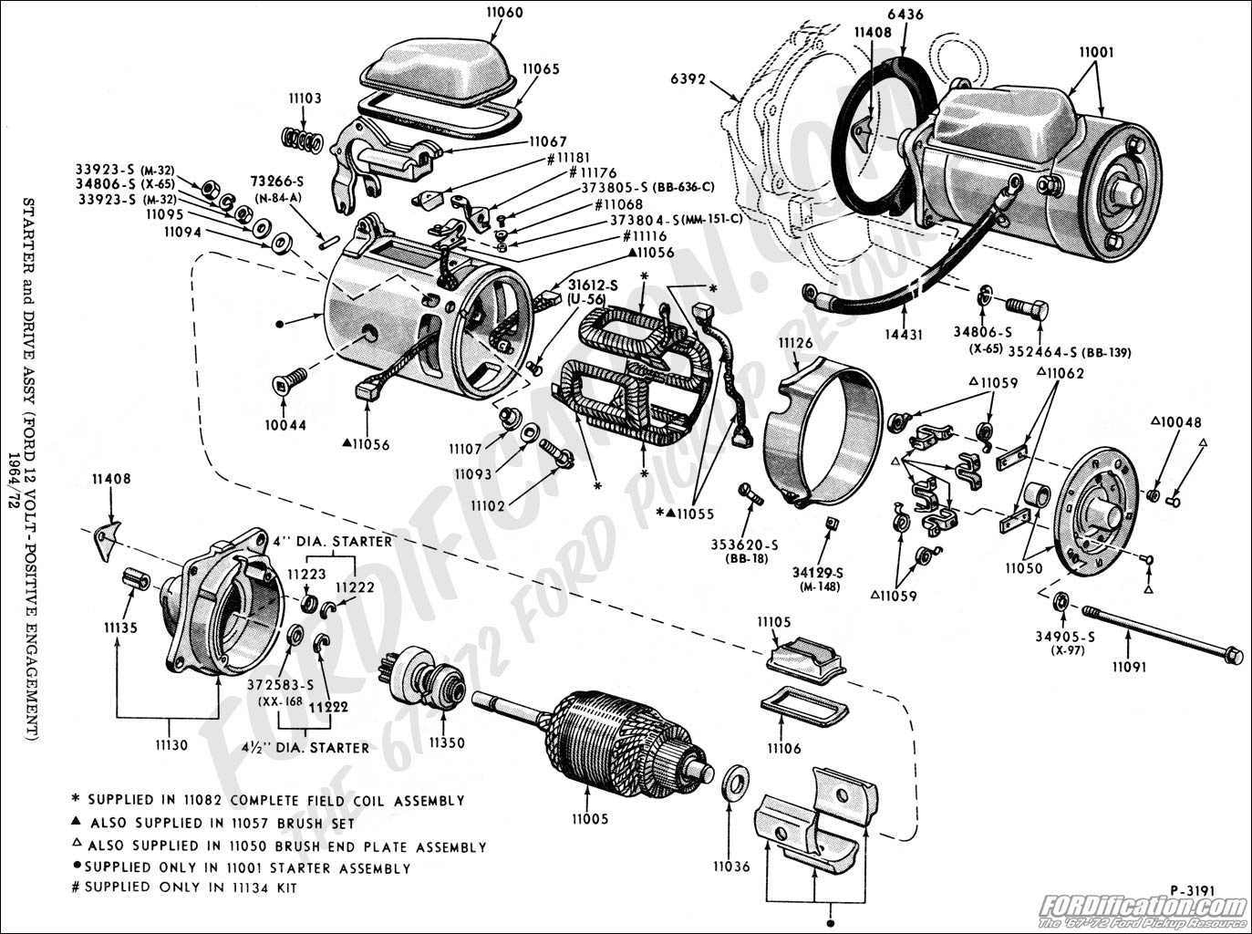 Ford Ranger Starter Diagram