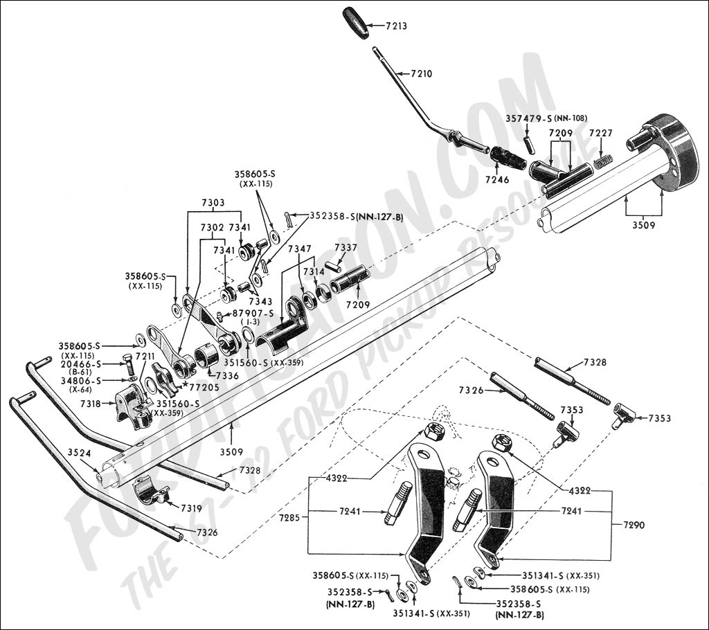72 Chevy Pickup Steering Column Diagram