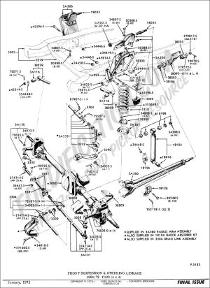 1988 Ford F 150 Steering Column Diagram Ford Auto Fuse