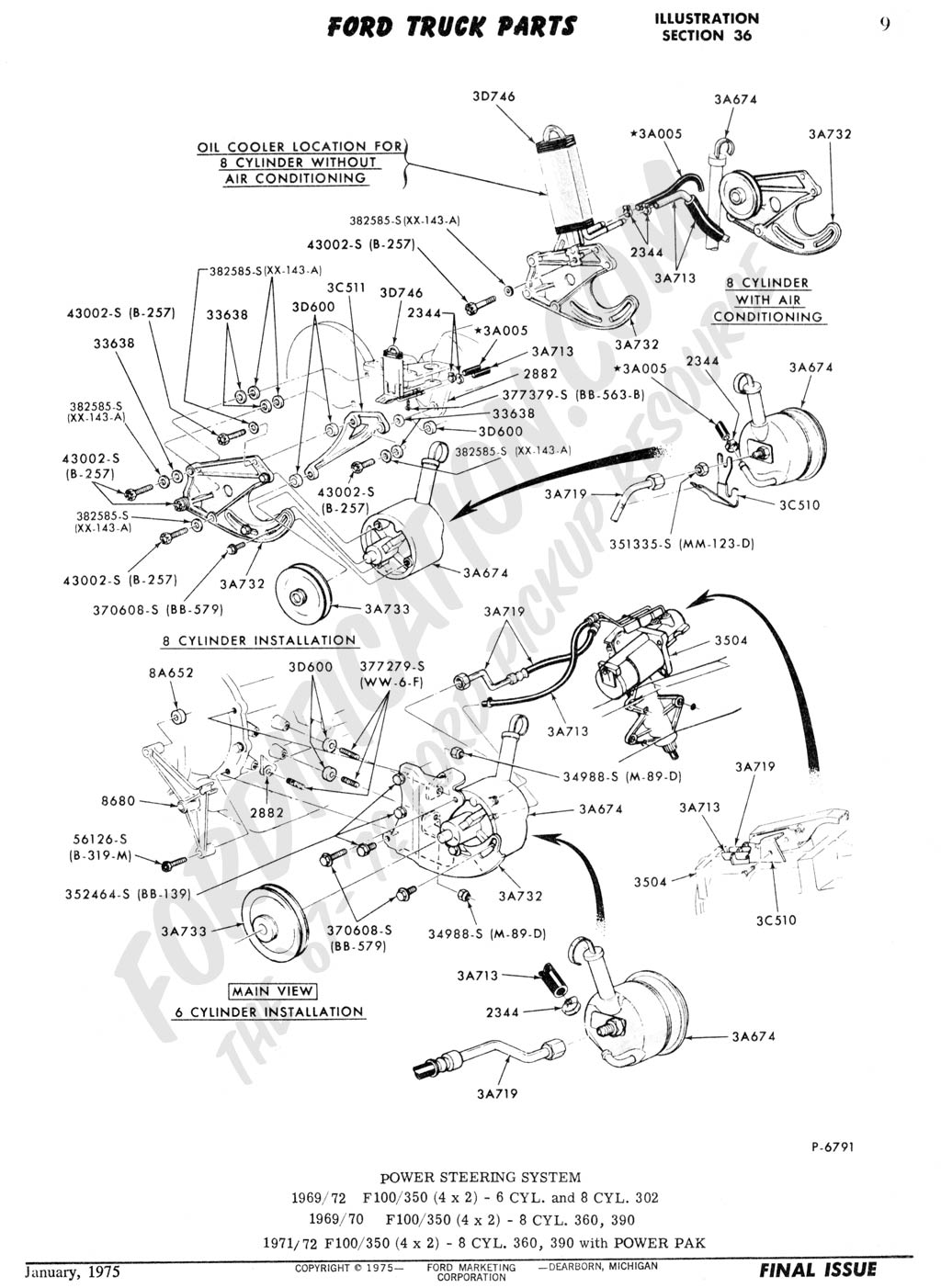 Ford F100 Steering Column Diagram