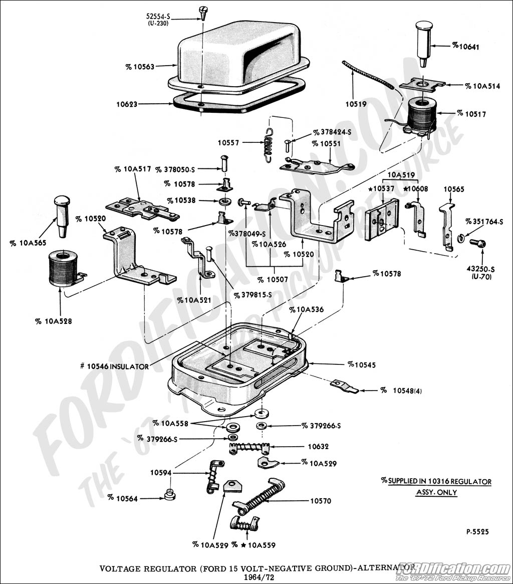 Wrg Ford F 350 Voltage Regulator Wiring Diagram