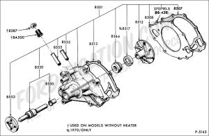 Ford Truck Technical Drawings and Schematics  Section E