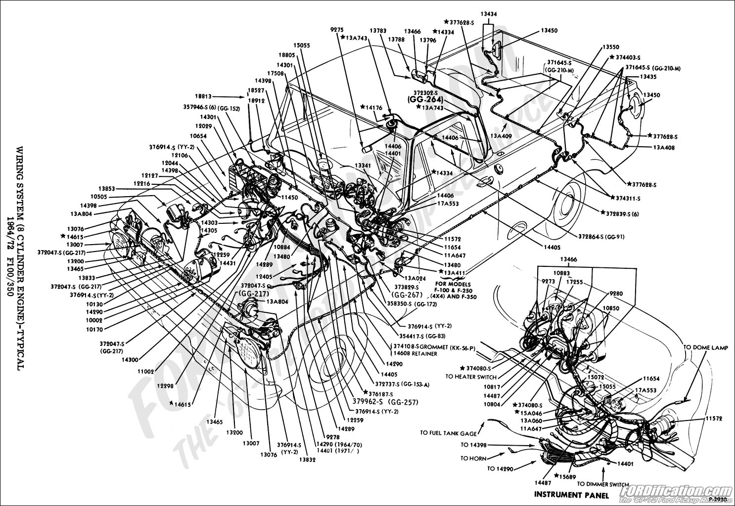 B5ab6 Ford F100 Truck Wiring Diagram For Headlight