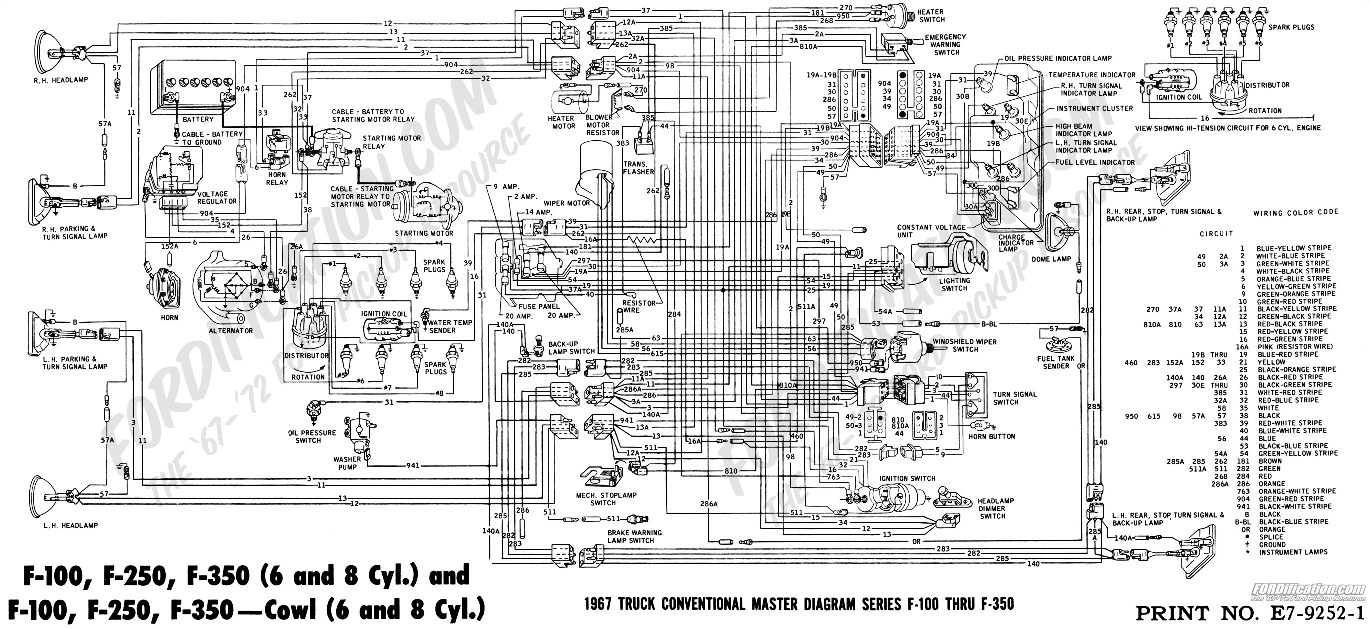 67masterdiagram 1999 ford radio wiring diagram turcolea com 1999 ford f350 radio wiring diagram at highcare.asia
