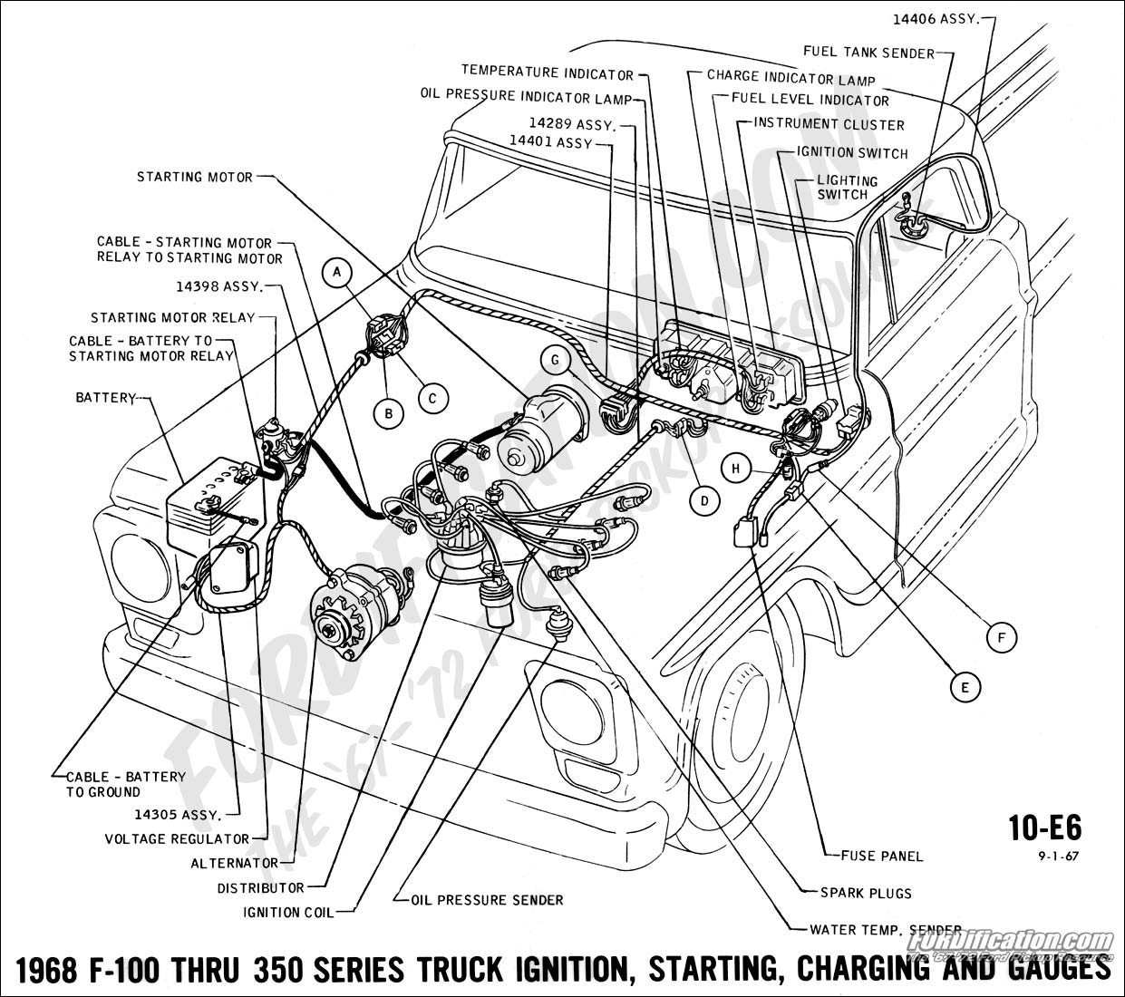 Chevy C10 Alternator Wiring Diagram
