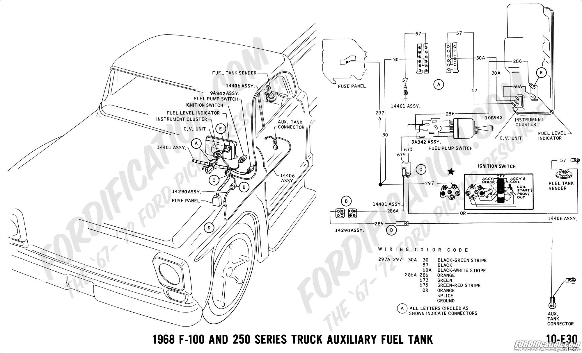 Fuel Gauge Wiring 68 F250