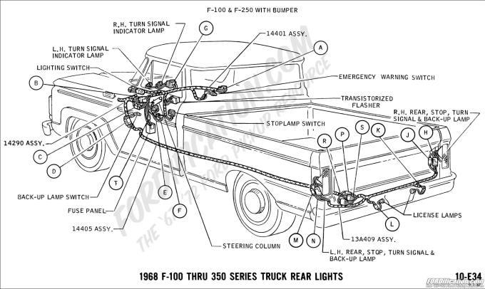 Ford F350 Interior Parts Diagram