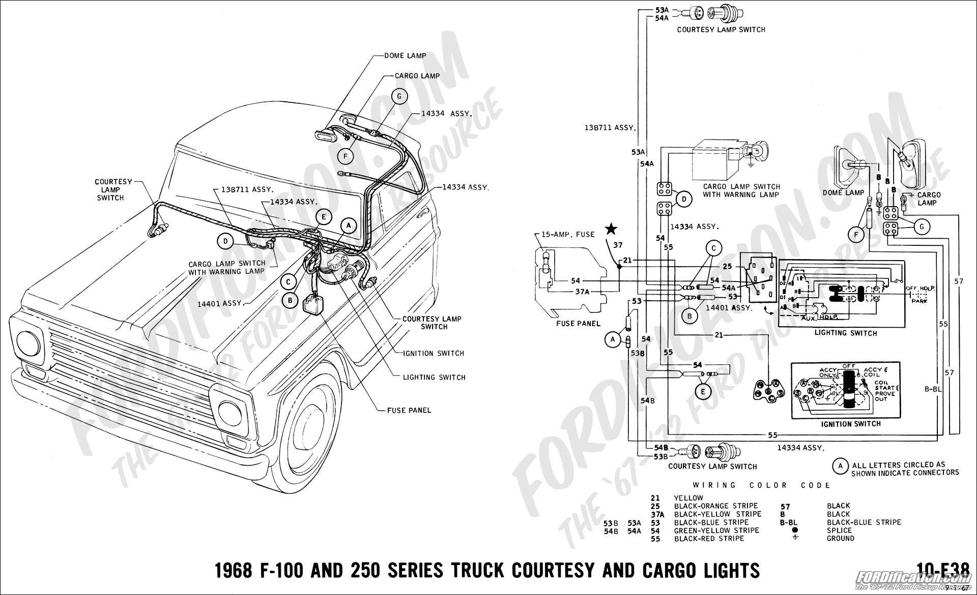 Ford F100 Wiring Diagram Ke Light