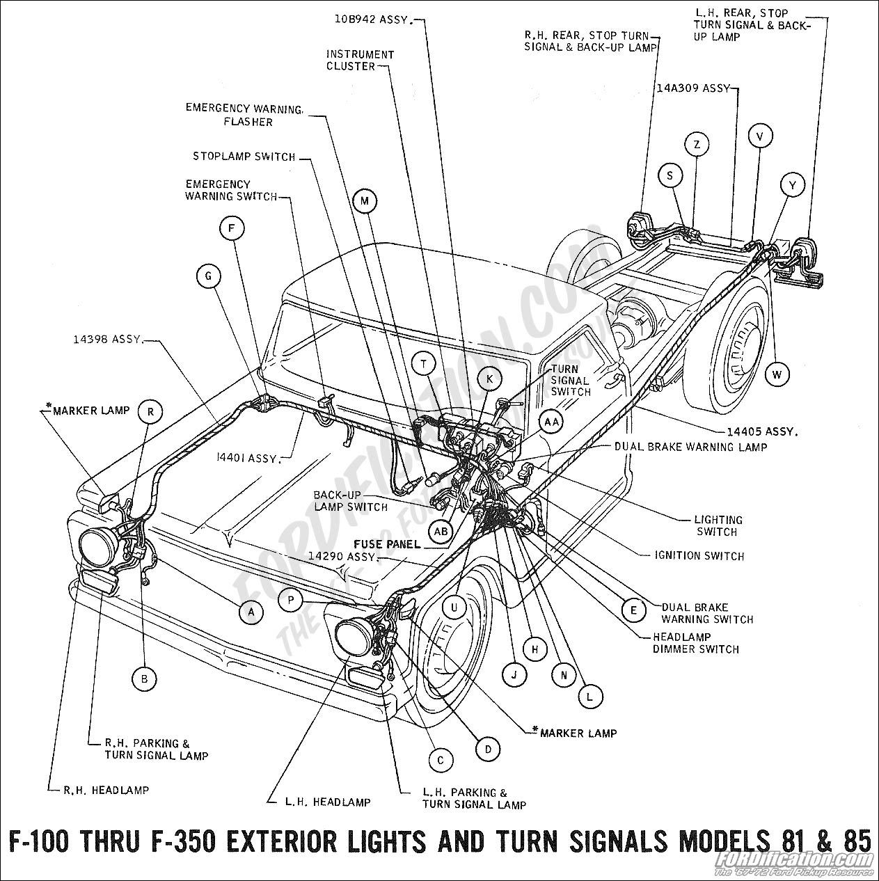 65 Ford F100 Wiring Diagram