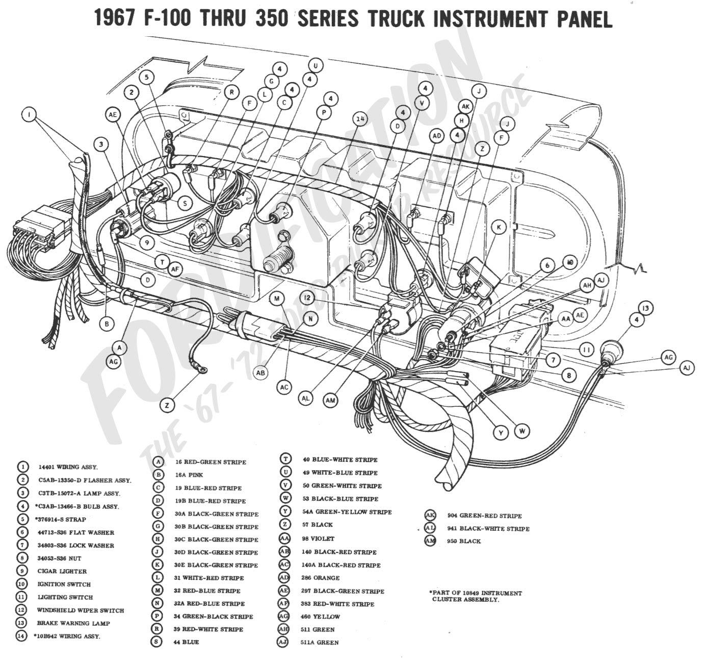 1967 ford wiring diagram 1967 ford truck wiring diagram  u2022 138dhw co