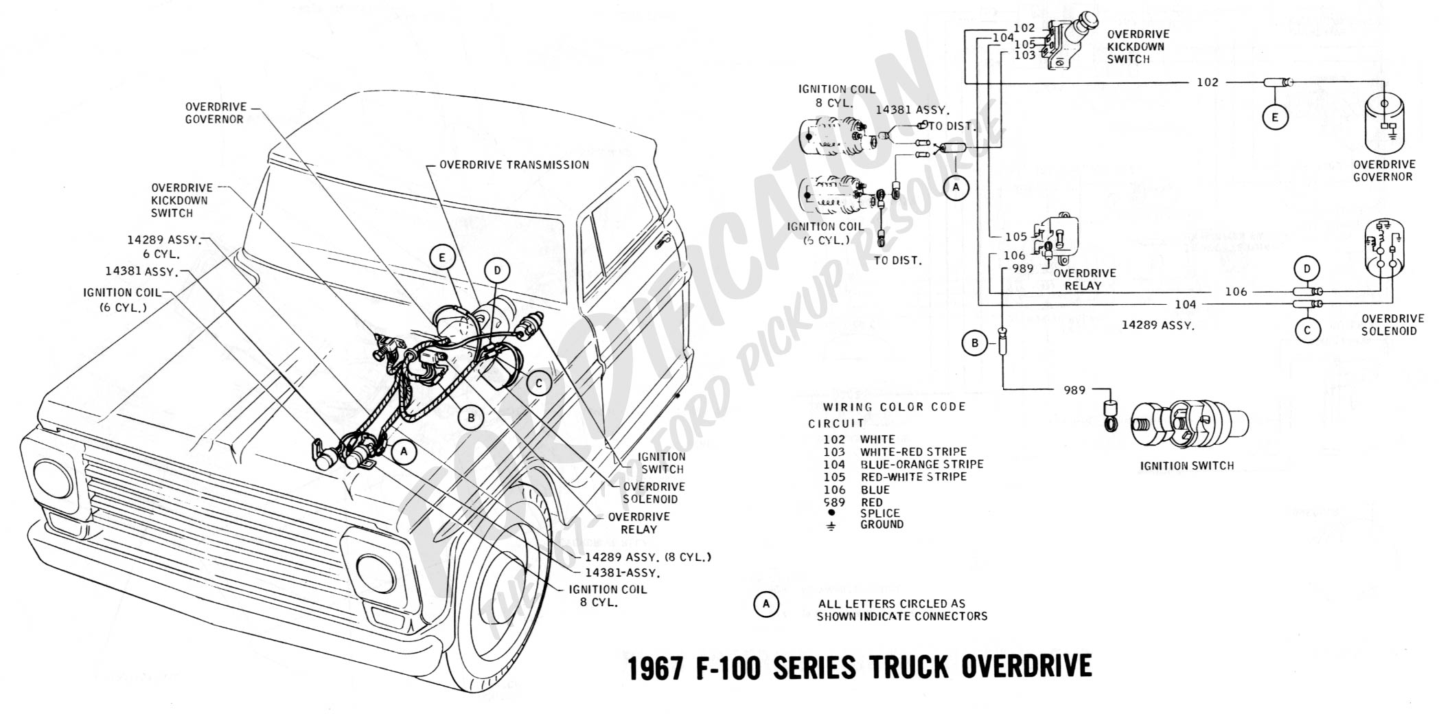F100 Steering Column Wiring Diagram