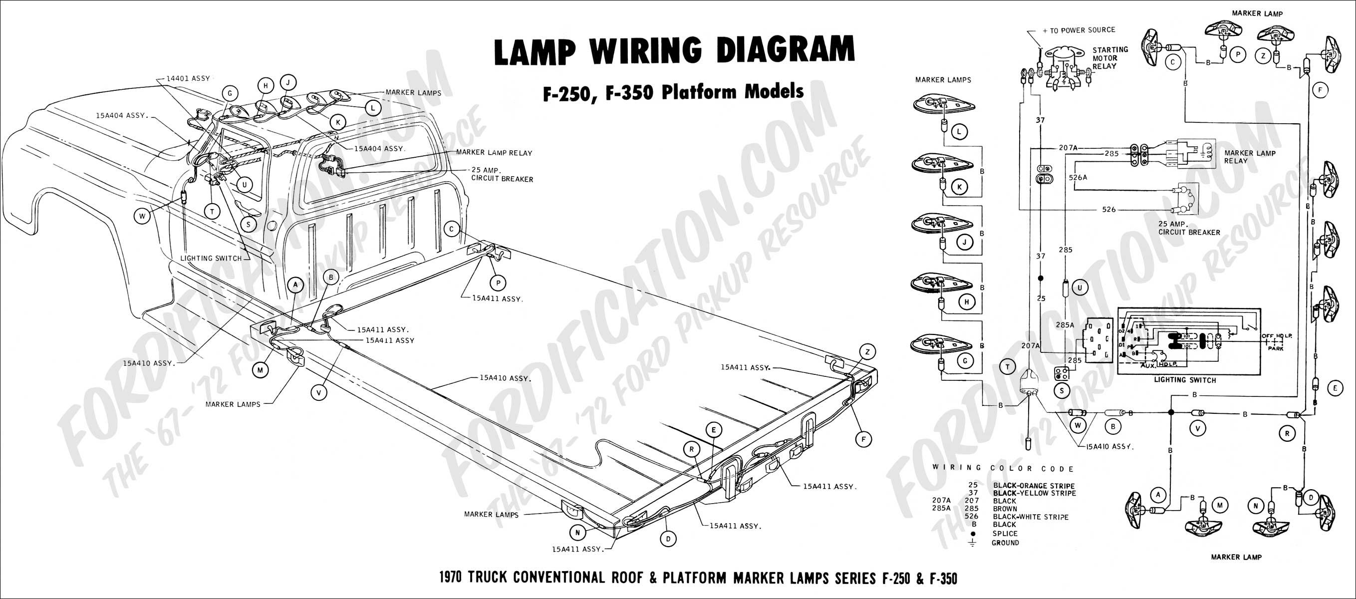 Stop Lamp Wiring Ford Bronco