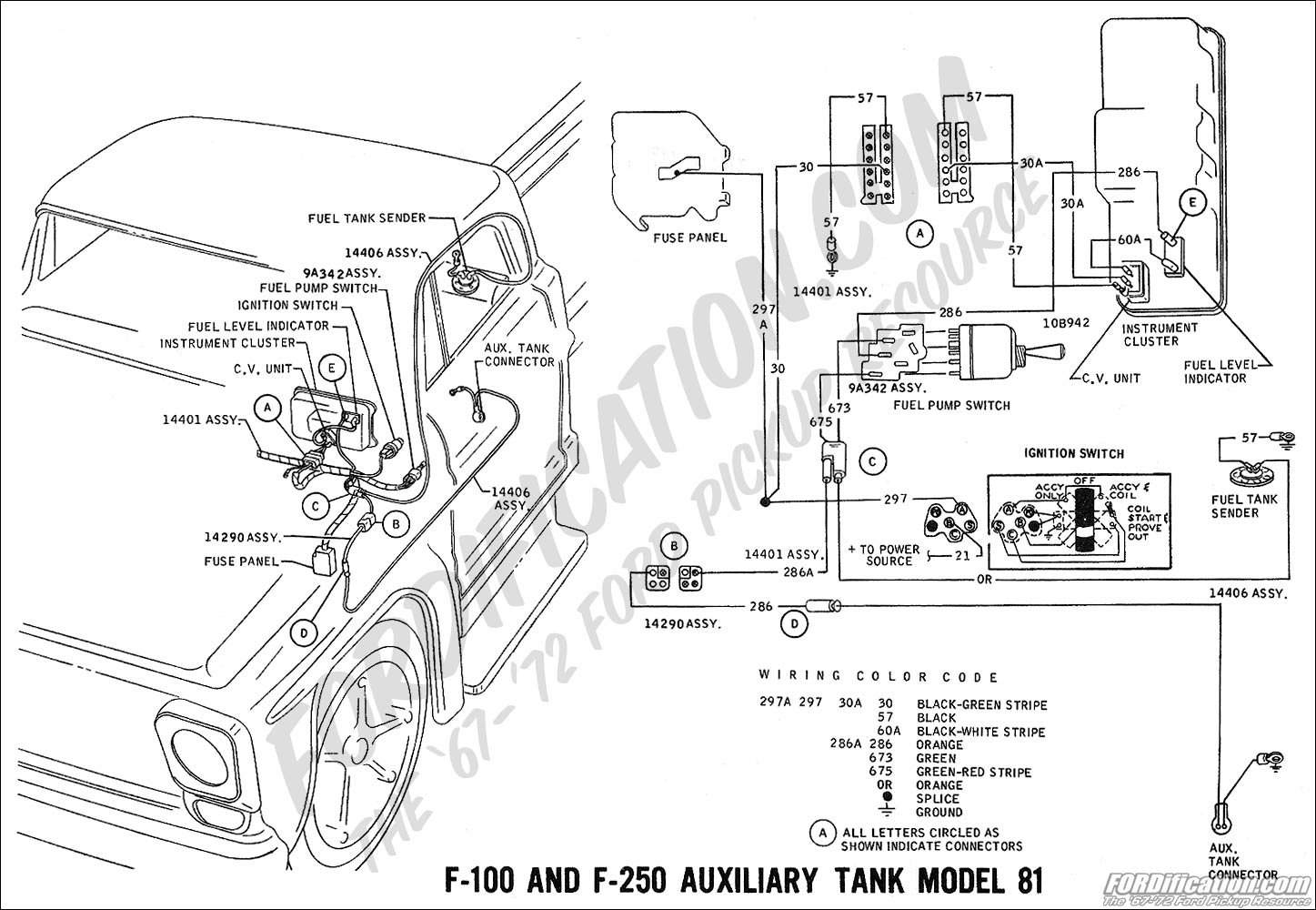 Auxilary Switch Wiring Diagram Ford F 250 4x4
