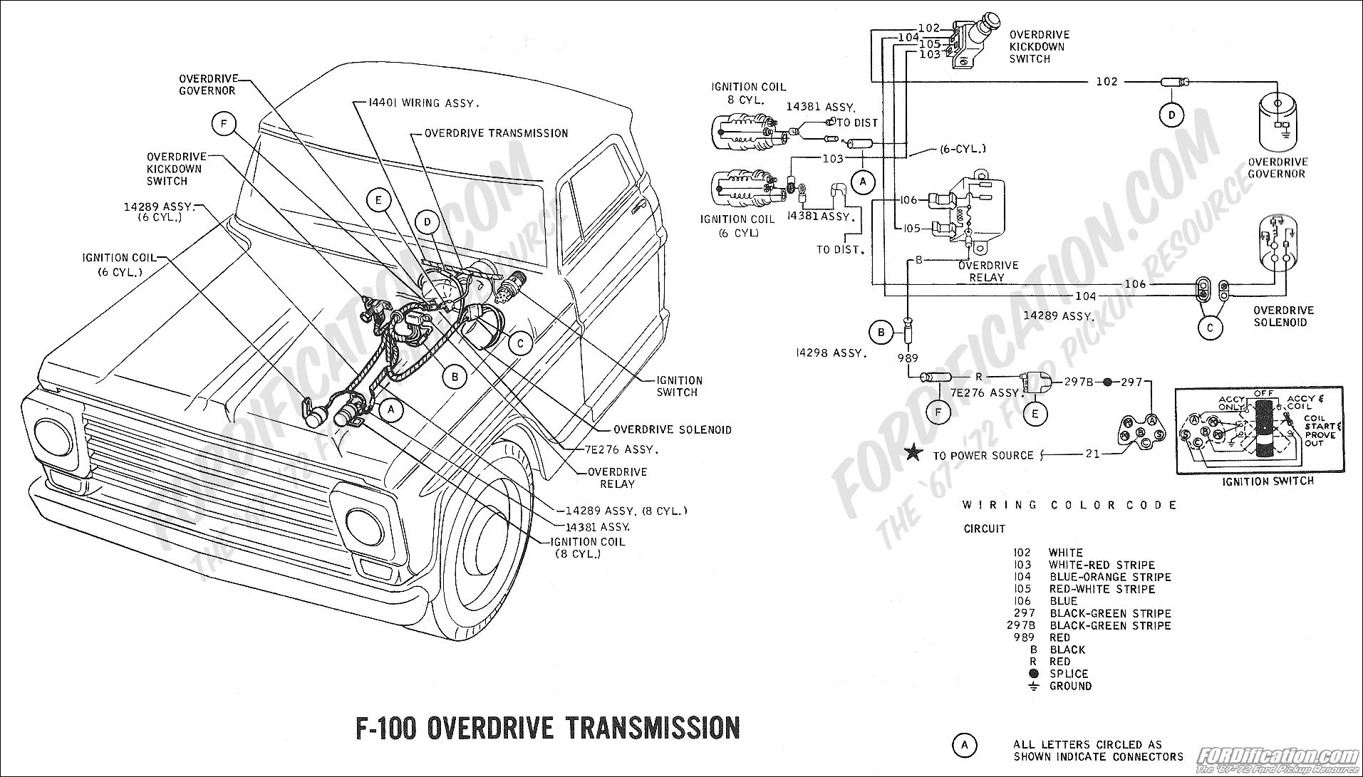 Wiring Diagram For F100 Ranger 390 Three On The Tree