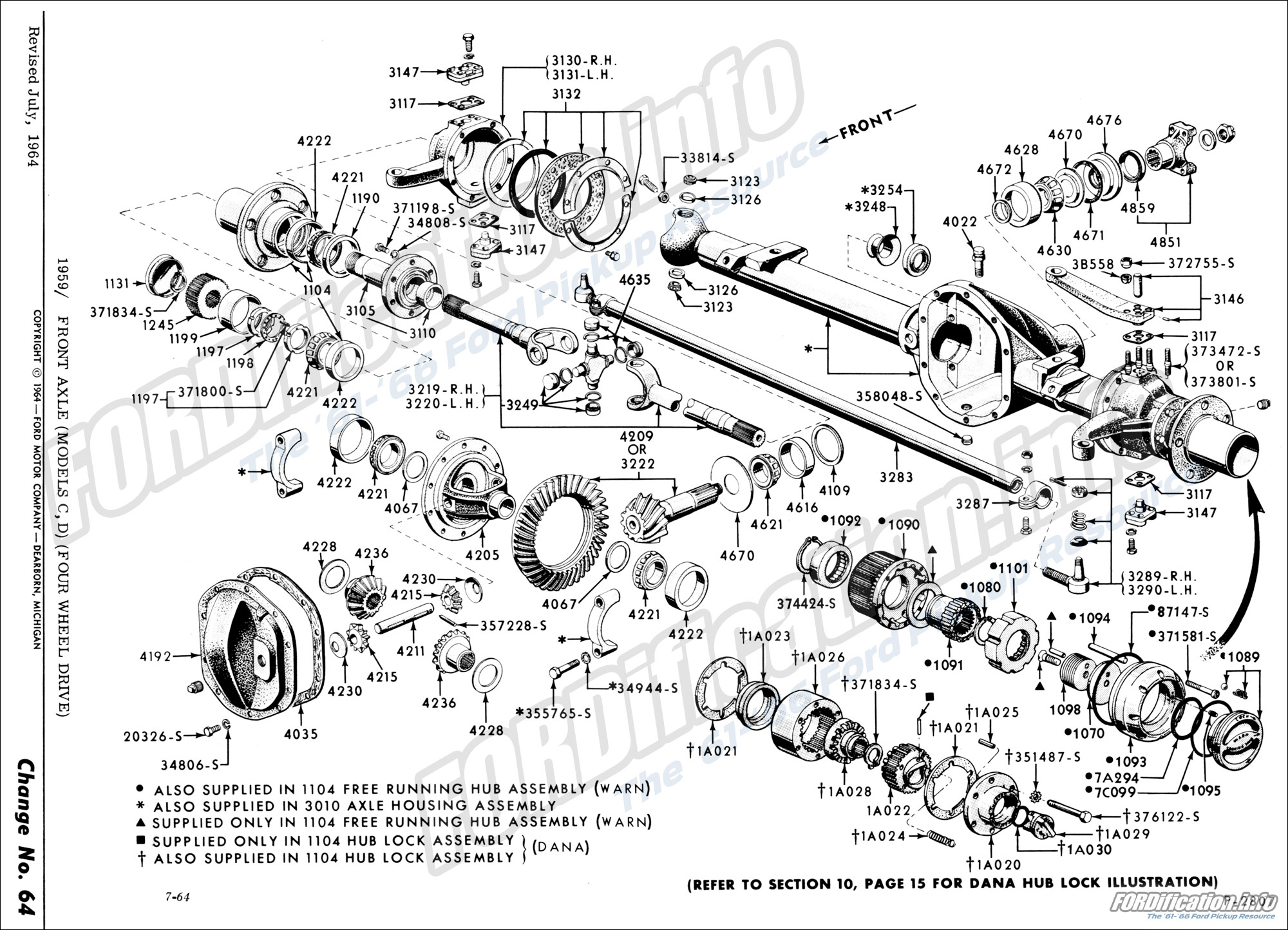Front rear axle suspension schematics fordification info the 1959 front axle models c d four wheel drive ' at 1932 ford bumper