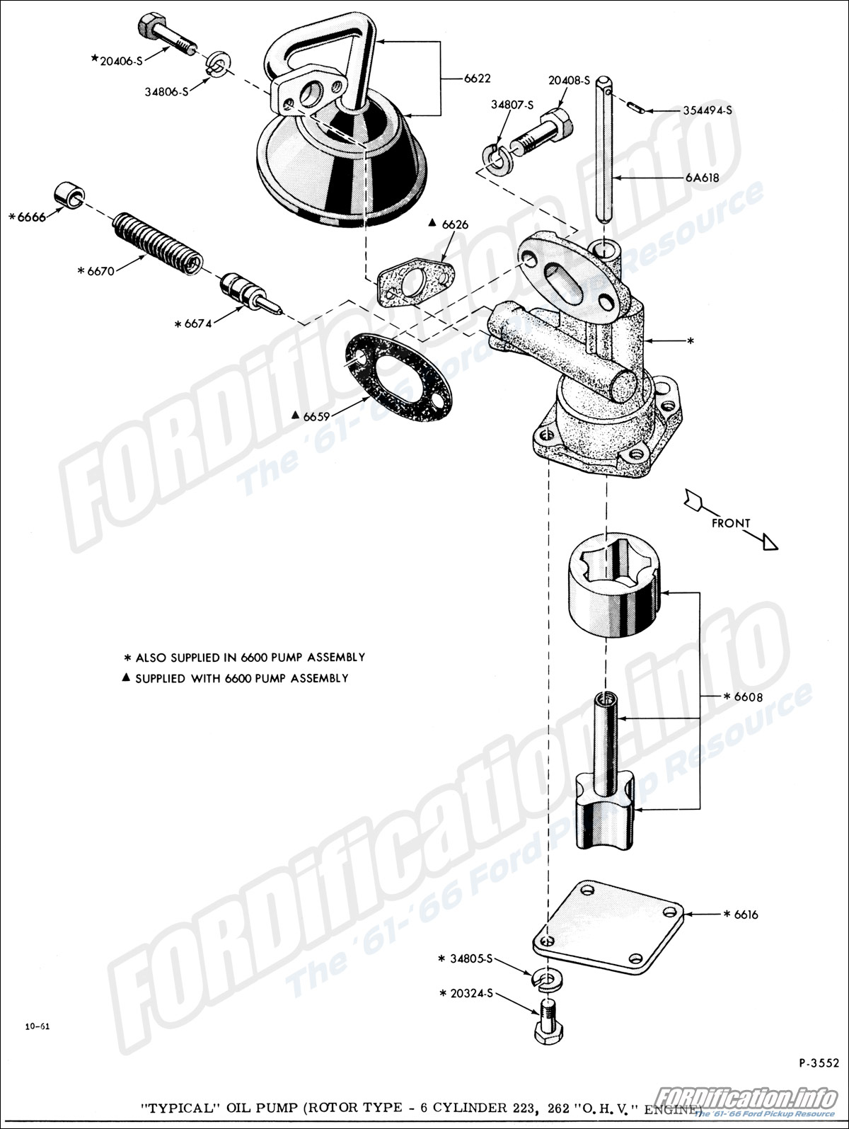 Engine related schematics fordification info the \'61 \'