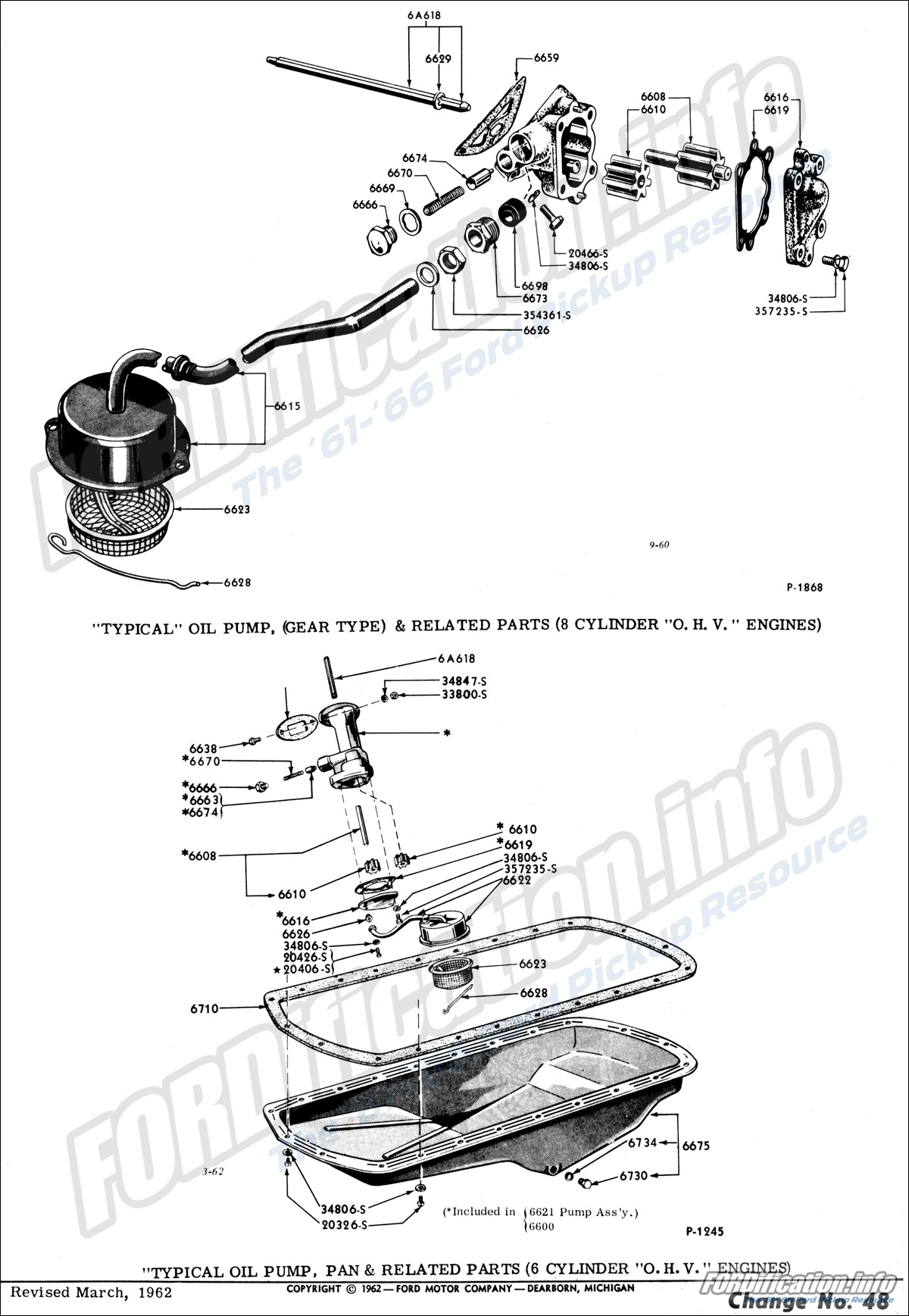 Engine related schematics fordification info the '61 '66 ford ford truck engine wiring diagram 8 cylinder ohv engine diagram