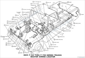 1964 Ford Truck Wiring Diagrams  FORDificationinfo  The